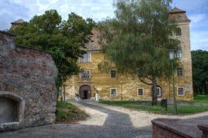 Burg in Mosonmagyaróvár (Altenburg, Wieselburg)